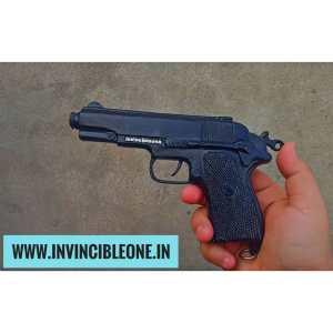 CORK GUN BERETTA STYLE (MATTE BLACK) (SOUND GUN)