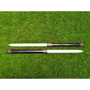 DAGGER (2 Blade In 1 Piece Black DAGGER)