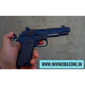 BIG SIZE CORK GUN BERETTA STYLE(MATTE BLACK)