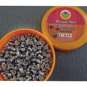 MORGAN SHOT(9.4 grain pellets)(LONG RANGE ROUND HEAD PELLETS)(.177CAL)