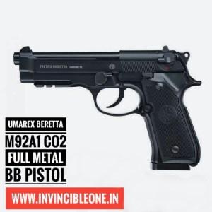 UMAREX BERETTA M92A1 CO2 FULL METAL BB PISTOL (BLOWBACK ACTION AIR PISTOL)