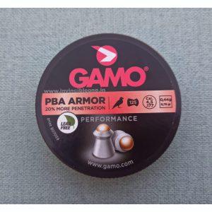 GAMO PBA ARMOR .177CAL   4.5MM  (Advanced tip delivers 20% more hitting power)