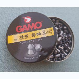 Gamo TS-10 Pointed Pellets (great impact at long distances)(0.177cal/4.5mm)10.49gr/0.68g Airgun Pellets