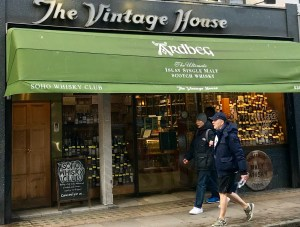 Un temple du whisky : The Vintage House