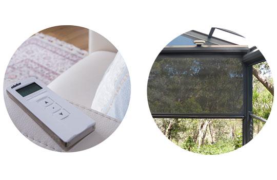 Ziptrak Blinds Adelaide | Remote Control