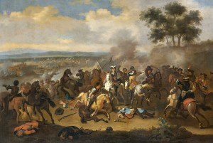 Battle of the Boyne during Williamite War