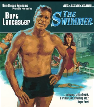 "Cinmatic Poster of Burt Lancaster in ""The Swimmer"""