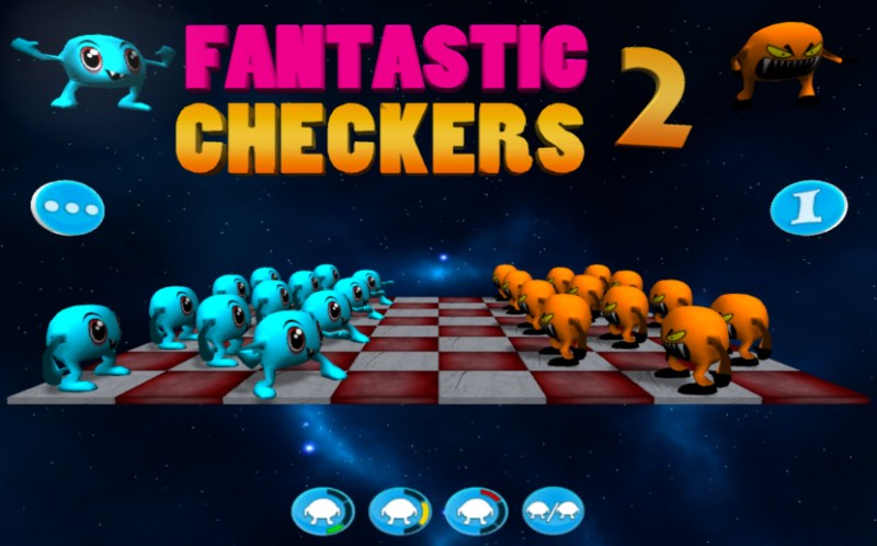 Fantastic Checkers 2 (Mac OS) - 01