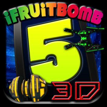 App Store Icon - iFruitBomb 5 (iOS)