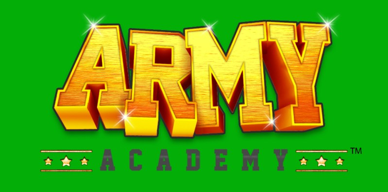 Game Logo - Army Academy Alpha