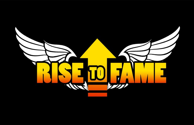Rise To Fame logoblack