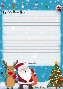 Carta Papá Noel gratis - 3