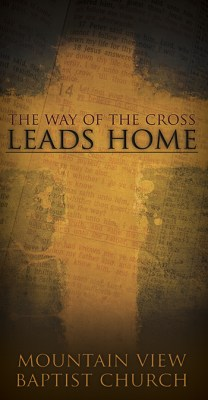 Way of the Cross: Tri-Fold Gospel Tract