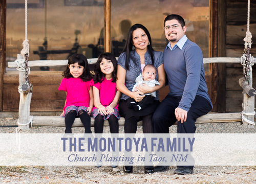 Pastor Estevan Montoya And Family