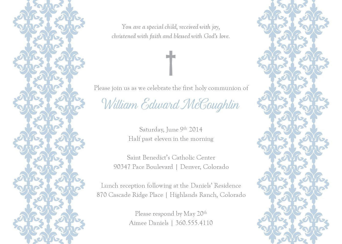 baptism invitation free template invitations card printable. posts ...