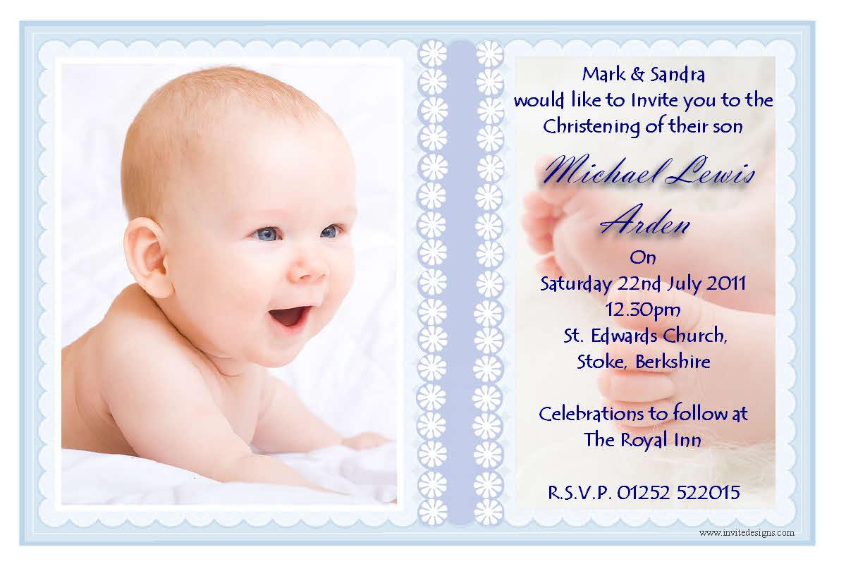Baptism Invitation Templates custom funny create baptism – Christening Invitation Cards Templates