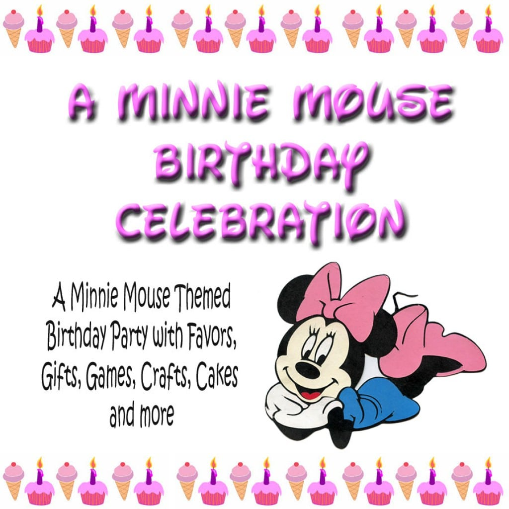 free minnie mouse birthday invitation