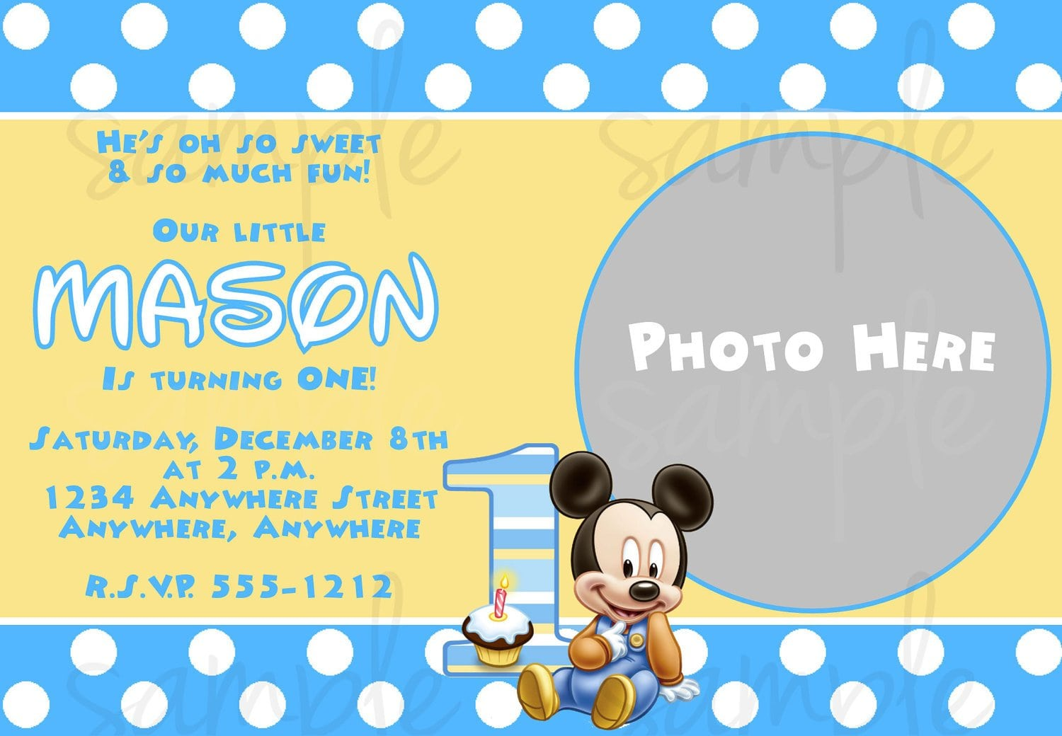 free printable baby mickey mouse