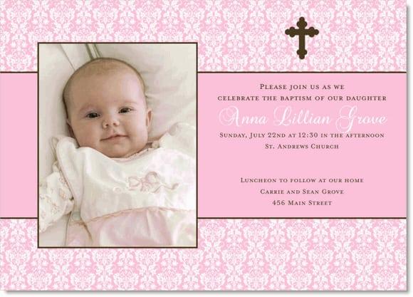 Christening Templates Free Cu580 Girl Butterfly Christening Girls