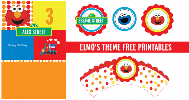 free elmo birthday invitation template