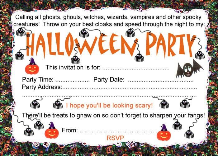 Printable Invitations Party City