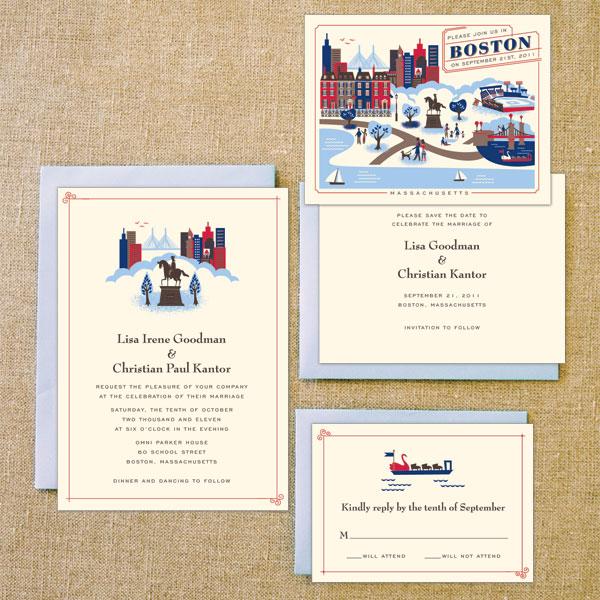 Destination Wedding Invites Boston Miami And The Riviera