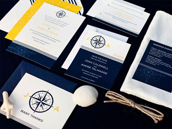 Sailboat Wedding Invitation