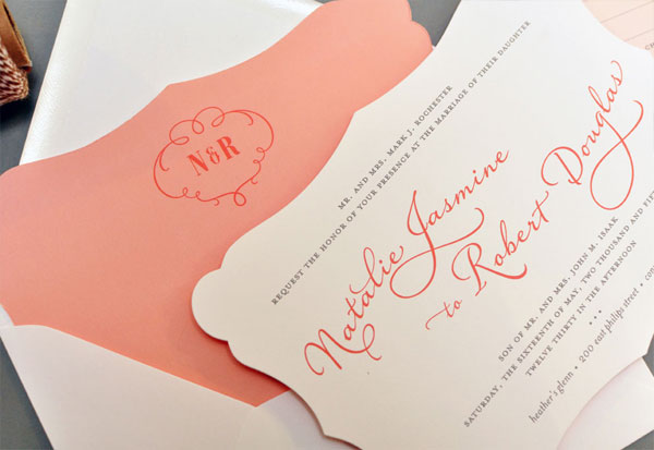 Cut Wedding Invitations
