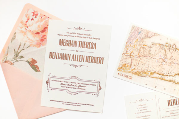 Wedding Invitation Inspiration Ceremony Program Weddings By Etsy Romantic Vintage Modern