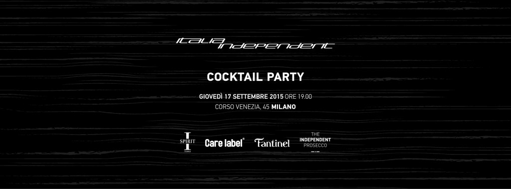 ITALIA INDEPENDENT Cocktail Party # 3