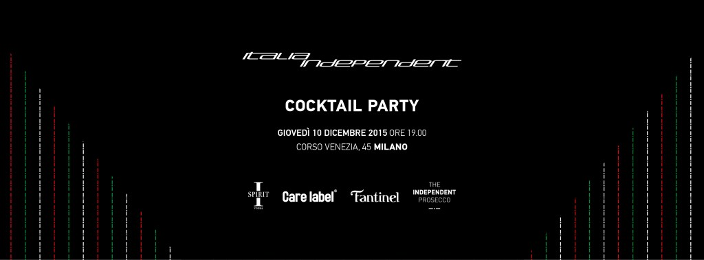 ITALIA INDEPENDENT Cocktail Party Ultimo Appuntamento