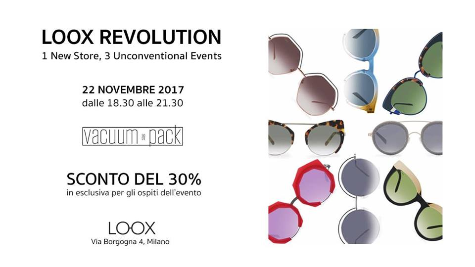 Loox Revolution | 1 New Store, 3 Unconventional Events vol.2