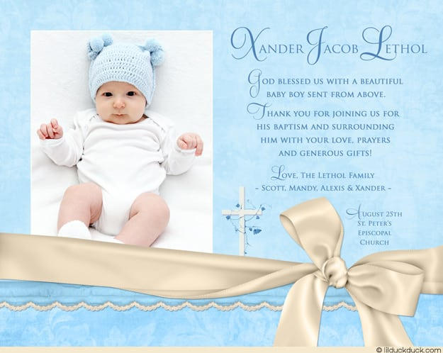 Christening Invitation Template invitations baby boy and boys on – Christening Invitation Cards Templates