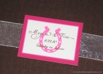 Megan Wedding Invitation