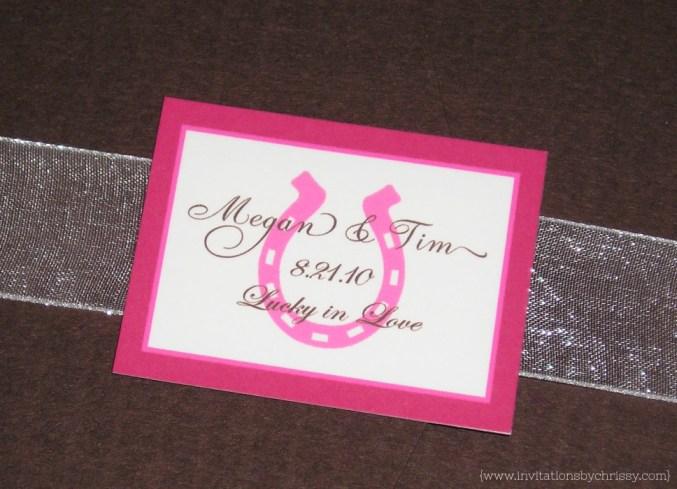 Megan Wedding Invitation