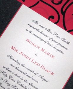 Susan Wedding Invitation