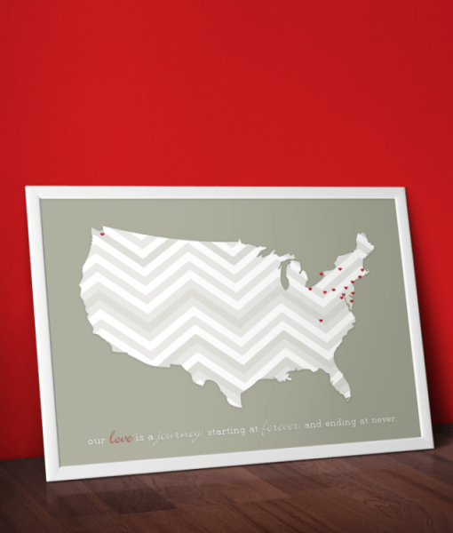 Love Is A Journey, Print