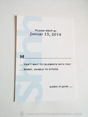 Francis Birthday Invitation RSVP