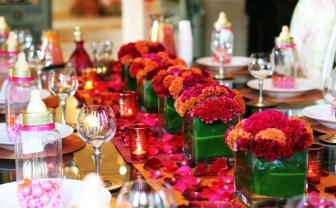 Moroccan Flower Arrangements