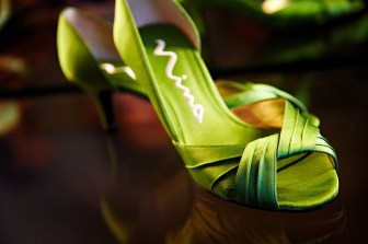 wedding green shoes