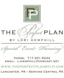 event wedding planner business card design