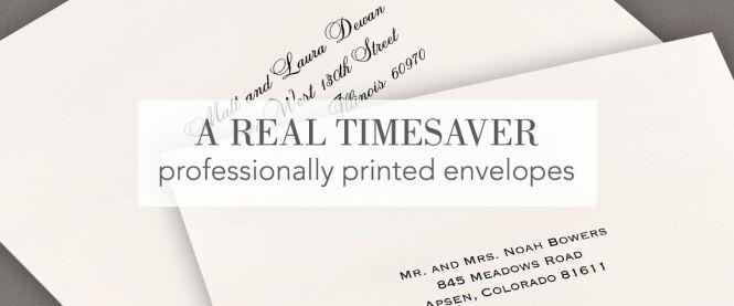 Wedding Envelope Addressing