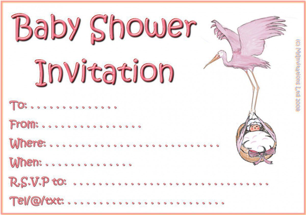 Printable Christening Invitations For Girls