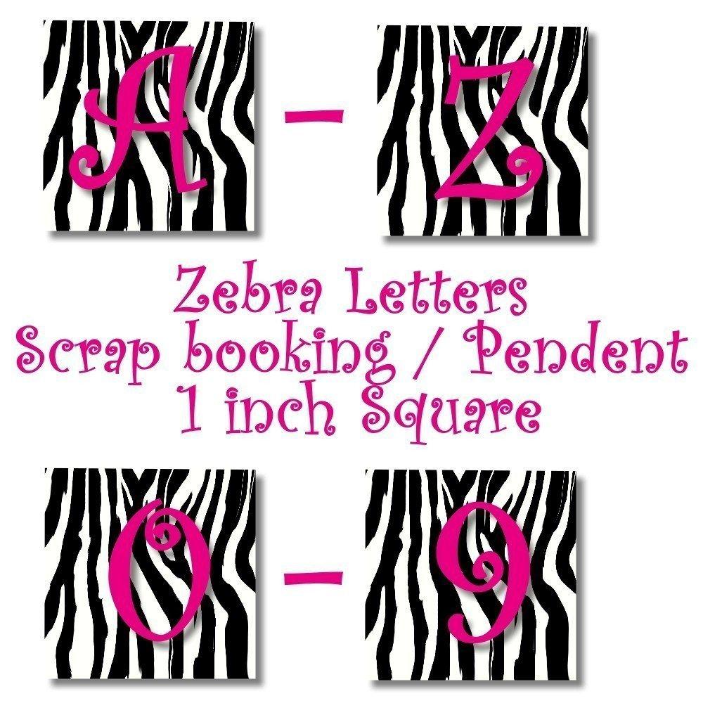 zebra letters printable   Creativeletter.co