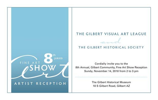 Art Invitation Sample