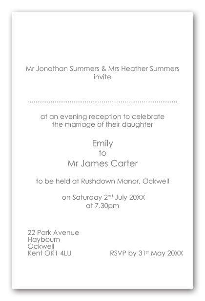 Evening wedding invitation wording etiquette uk dulahotw wedding invites wording uk peonies layered invitations filmwisefo
