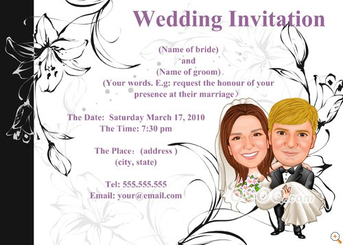 Eloped Party Invitations