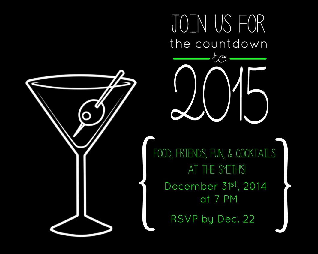 funny new year party invitation wording merry christmas and happy