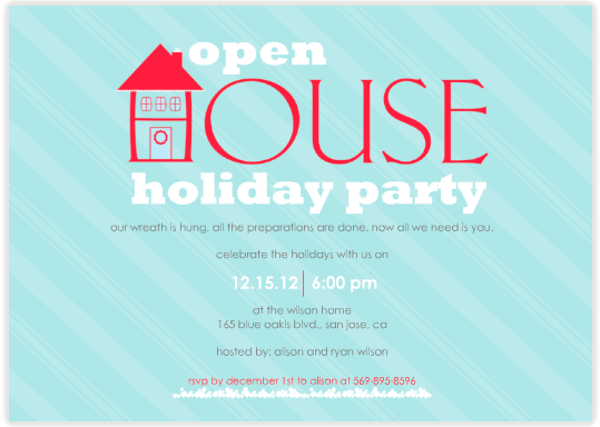 open house party invitation wording 539 x 384