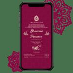 Invites Cafe Hindu Wedding Invitation 009